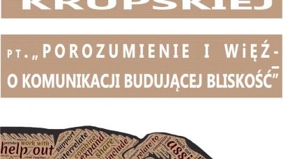 Zaproszenie na wykład Marty Krupskiej