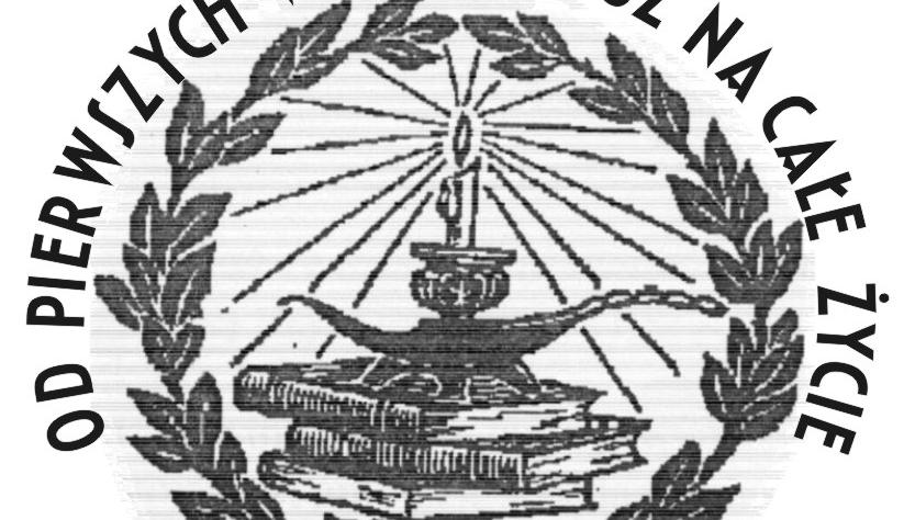 """Logo konkursu poetyckiego """"Od pierwszych wersów już na całe życie..."""""""