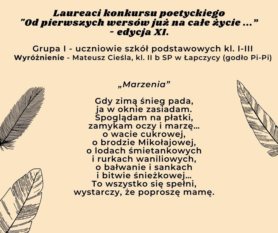 tekst wiersza 6