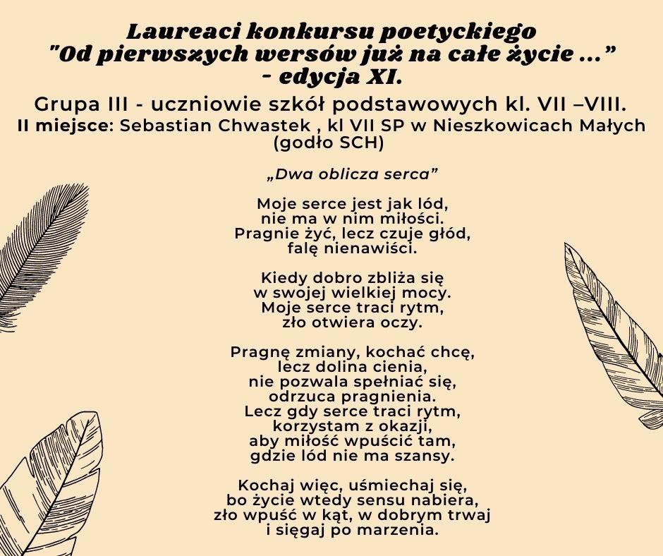 tekst wiersza